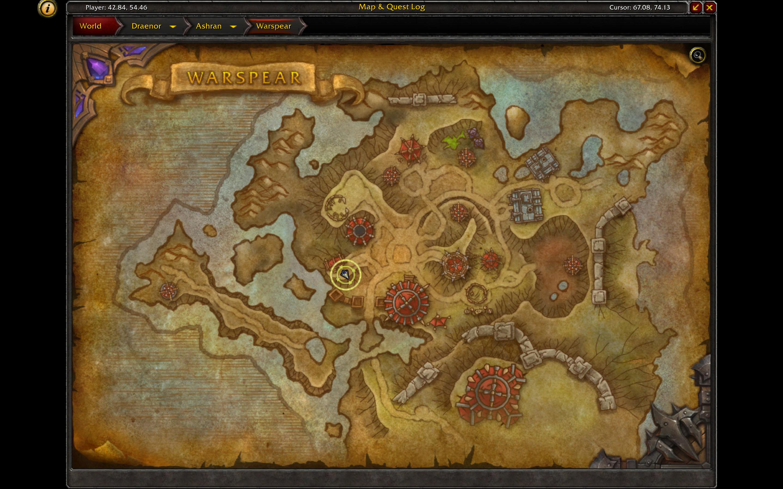 Conquest Vendor (Map)